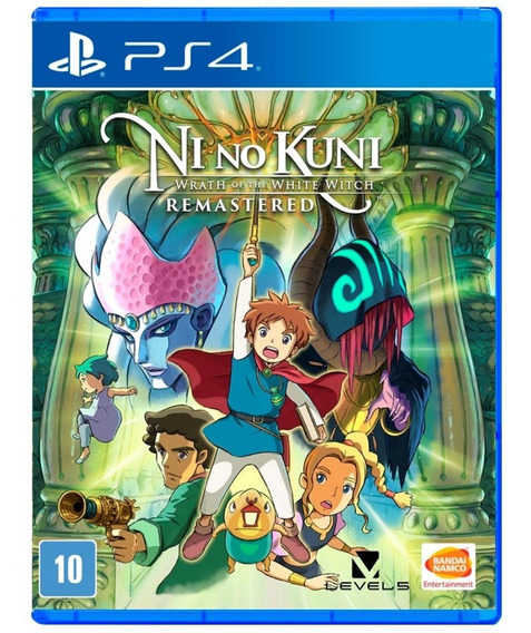 Ni No Kuni Wrath Of The White Witch Mídia Física (ps4) Novo
