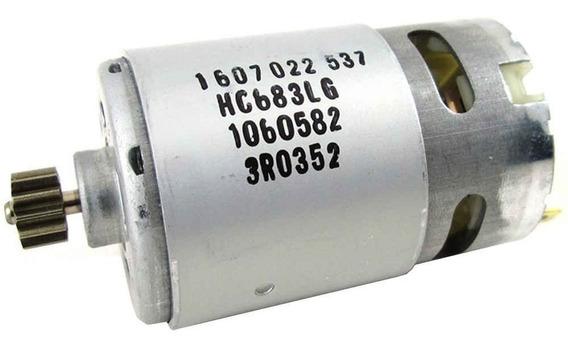 Motor + Pinhão Parafusad Bosch 14,4v 1607022537 (original)
