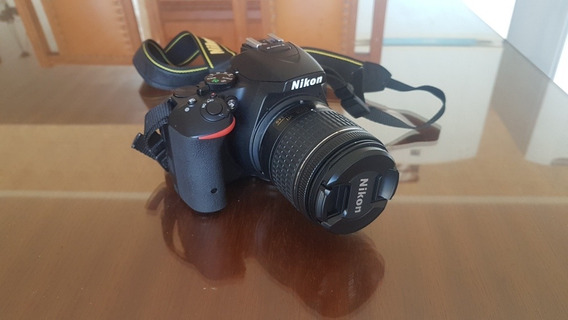 Nikon D5500 + Bag + Sd