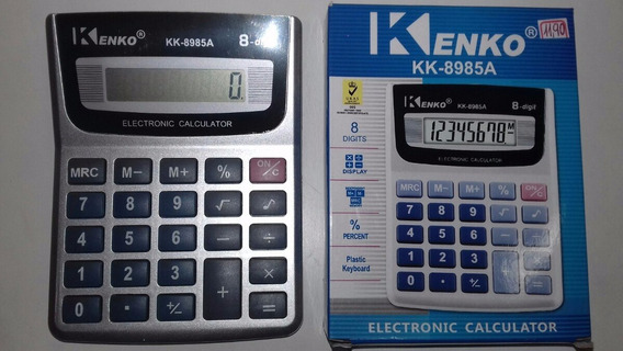 Calculadora Kenko 8 Dígitos De Mesa - Kk - 8985 Nf