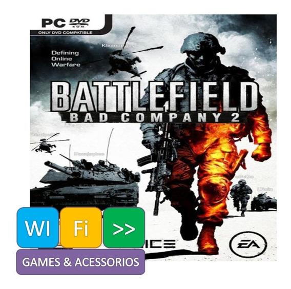 Battlefield Bad Company 2 Jogo De Pc - Mídia Física