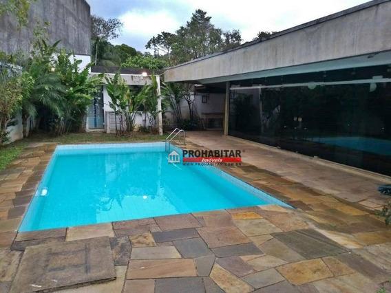 Casa Com 4 Dormitórios À Venda, 490 M² Por R$ 1.290.000 - Interlagos - São Paulo/sp - Ca1674