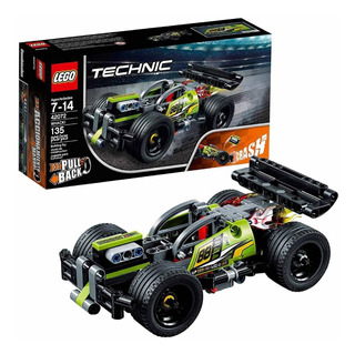 Lego Auto Dee Fricción Technic ¡golpea! 42072