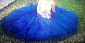 Vestido Xv Años Azul