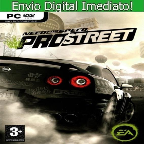 Need For Speed Prostreet Pc Hd Português Envio Imediato.