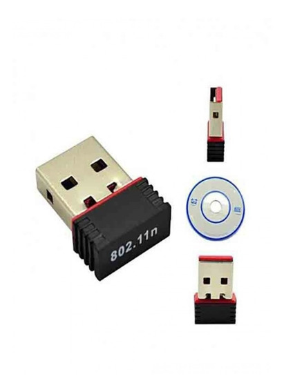 Adaptador Usb 2.0 Dongle Nano Wifi 802.11n Wireless 300mbps