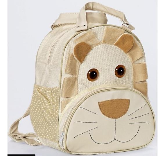Mochila Bolsa Escolar Passeio Infantil Bebe Animais Zoo Kids Bichinhos Diversos-varias Cores E Modelos Produto Original