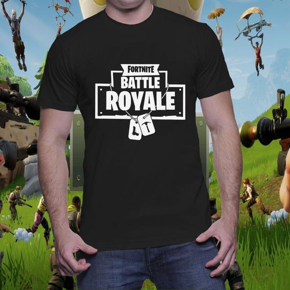 Remera Fortnite Battle Royale Estampado Vinilo
