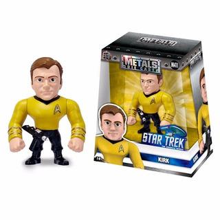 Figura De Acción Star Trek Kirk 10cm Die Cast Metal