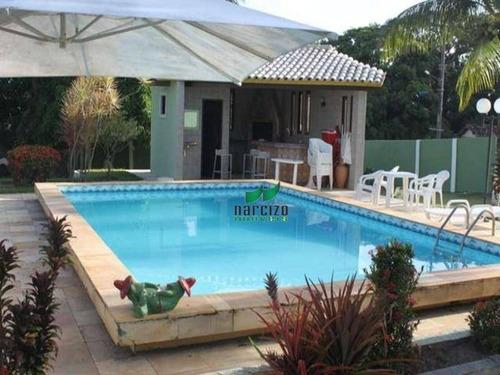 Chácara À Venda, 4960 M² Por R$ 800.000 - Barra Do Jacuípe - Camaçari/ba - Ch0004