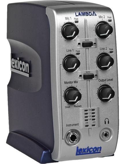 Placa De Audio Lexicon Lambda Para Home Studio. Nuevas!