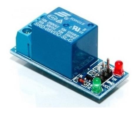 2 Módulo Relé 1 Canal 5v Interface Para Arduino Raspberry