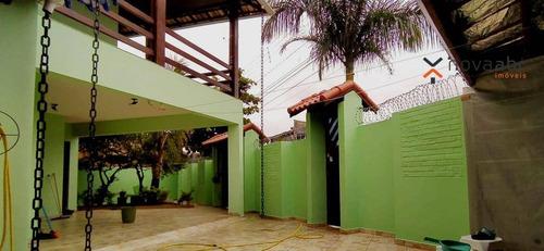 Imagem 1 de 30 de Sobrado Com 3 Dormitórios À Venda, 179 M² Por R$ 650.000,00 - Parque Novo Oratório - Santo André/sp - So1075