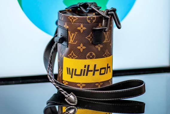 Bolsa Louis Vuitton Chalk Couro Nano Bag Lançamento