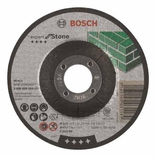 Disco Abrasivo Carburo De Silicio Corta Piedra 115 Mm Bosch