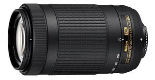 Lente Nikkor 70-300mm F/4.5-6,3 Af-p Dx