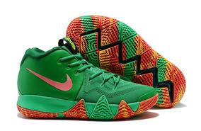 Tenis Nike Kyrie 4 Fail Folliage Original Leia O Anúncio