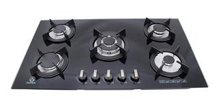 Parrilla a gas Supra 5Q-EC negro 110V
