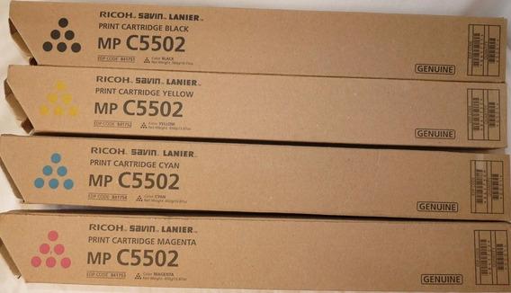 Toner Ricoh C4502 C5502 Yellow Original!