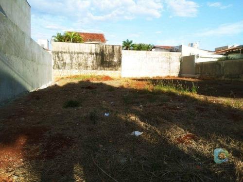 Imagem 1 de 5 de Terreno À Venda De Uso Misto C/  300 M²  - Jardim Califórnia - Ribeirão Preto/sp - Te1637