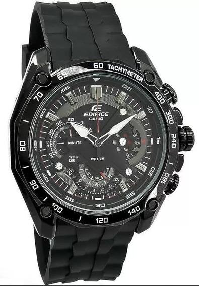 Reloj Casio Edifice Ef550 Hombre Resina Negro