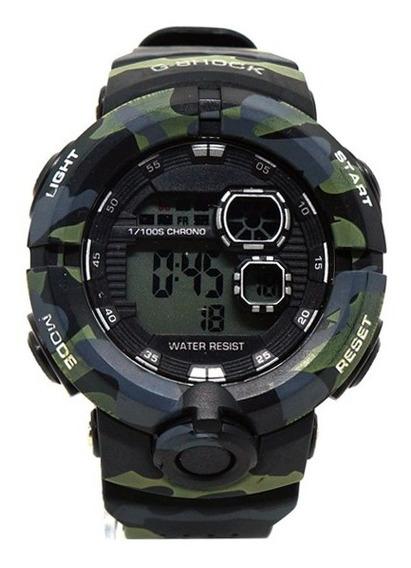 Relógio Masculino Esportivo Militar Camuflado Promoção Cores