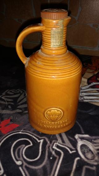 Antiguo Botellón De Whisky Dellepiane 75 Aniversario