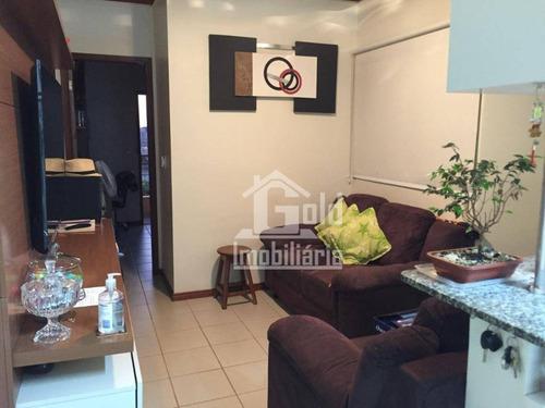 Apartamento Com 1 Dormitório À Venda, 42 M² Por R$ 260.000 - Jardim São Luiz - Ribeirão Preto/sp - Ap4172