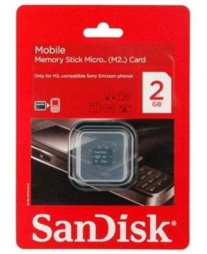 Memoria Sandisk M2 2gb Celular Sony Ericsson - Factura A / B
