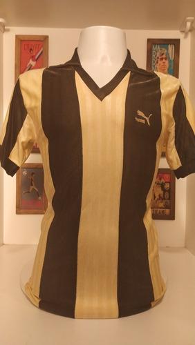 Camisa Futebol Penarol Puma Década 1980