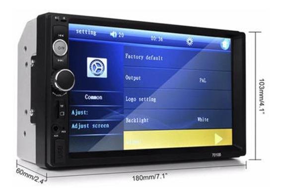 Radio Sin Dvd Bluetooth Para Auto Tipo Bloque Doble Din