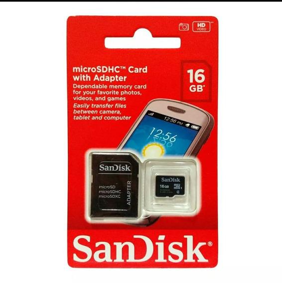 Cartão De Memória Micro Sd 16giga Uma Unidade Por Compra