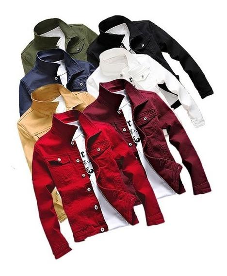 Jaqueta Jeans Masculino Todos Os Tamanhos