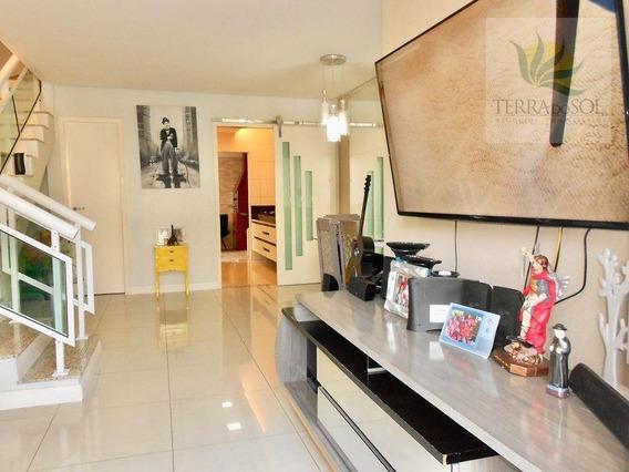 Casa Duplex Em Condomínio Fechado, Toda Projetada Na Lagoa Redonda. - Ca0710