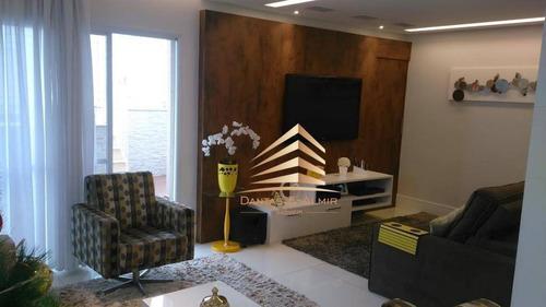 Cobertura Duplex, Vila Augusta, Condomínio Parque Clube, 4 Dormitórios, 3 Vagas. - Co0015
