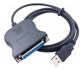 Nuevo Cable Adaptador Usb A Puerto Paralelo Db25 Impresoras