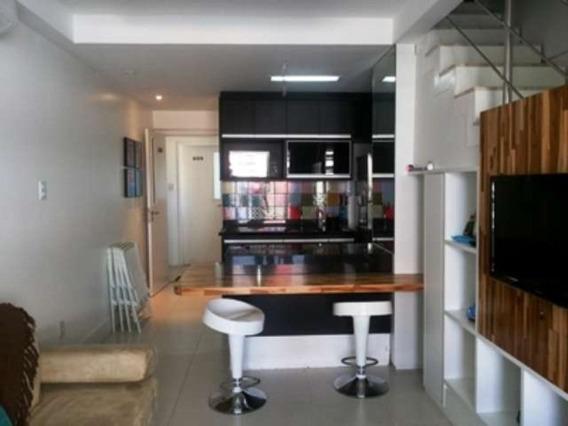 Apartamento Duplex Quarto E Sala Mobiliado 78m2 Em Armação - Uni359 - 4496930