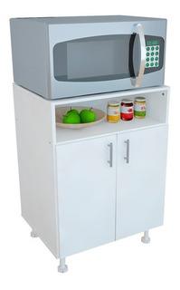 Mueble Porta Microondas Horno Organizador Despensero