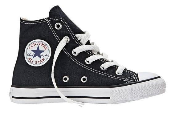 Zapatilla Converse All Star Ch Taylor Hi Jr Black