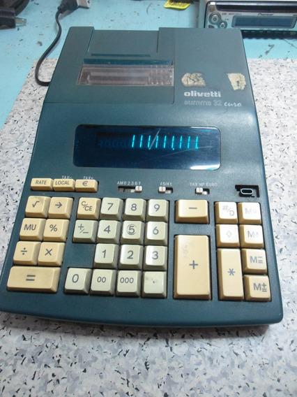 Calculadora Olivetti Summa 32 Euro