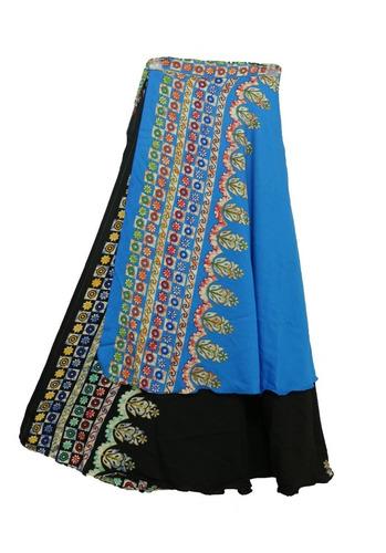 Saia E Vestido Indiano: Saia Dupla Face,várias Formas De Uso