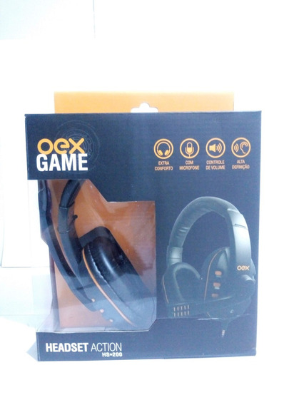 Headset Oex Action Hs200