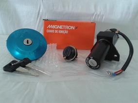 Kit Chave Contato Ignição Ybr 125 2014 2015 Factor Magnetron