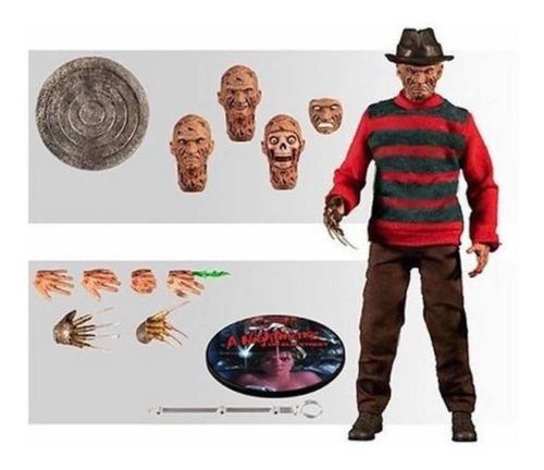 Mezco One:12 Freddy Krueger Nuevo Fpx Hot Nightmare On Elm