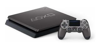 Sony PlayStation 4 Slim 1TB Limited Edition Days of Play 2019 steel black