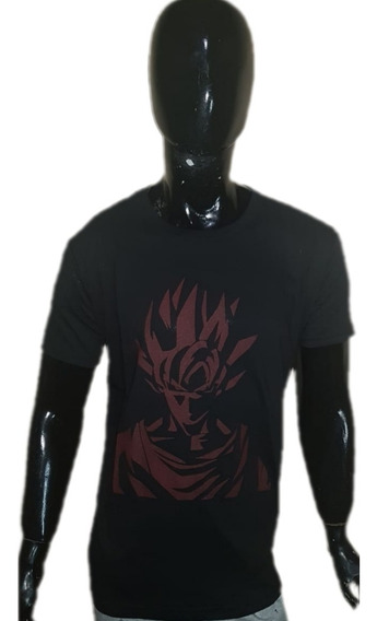 Remeras Goku. Dragon Ball. Estampado Serigrafia. Excelente