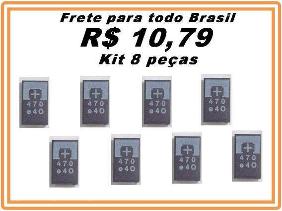 Capacitor Smd Tântalo 470uf 2.5v 470 Reparo Ps3 Kit 8 Pçs