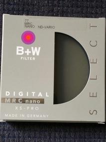Filtro B+w 77 Mrc Nano Nd-vario Xs Pro