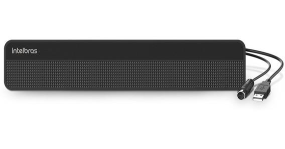 Antena Tv Digital Interna Amplificada Hdtv Intelbras Ai 3101