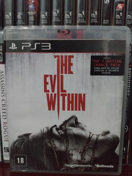 The Evil Within Original Ps3 | Parcelamento Sem Juros